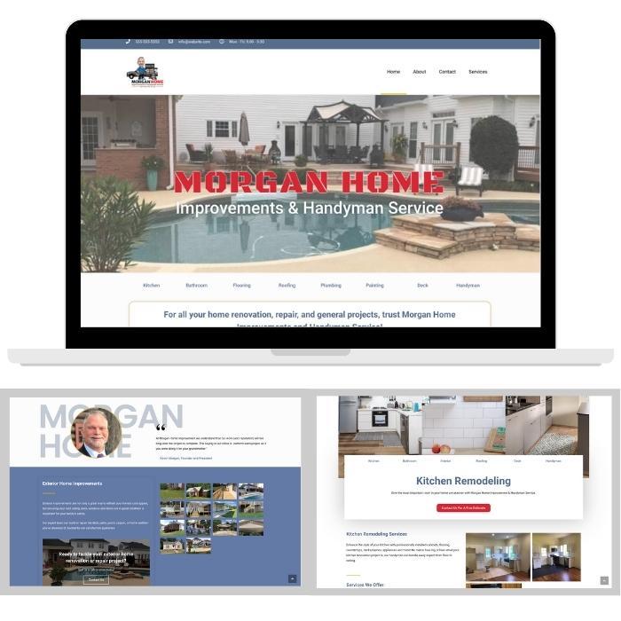 Web Design for Home Improvement Service